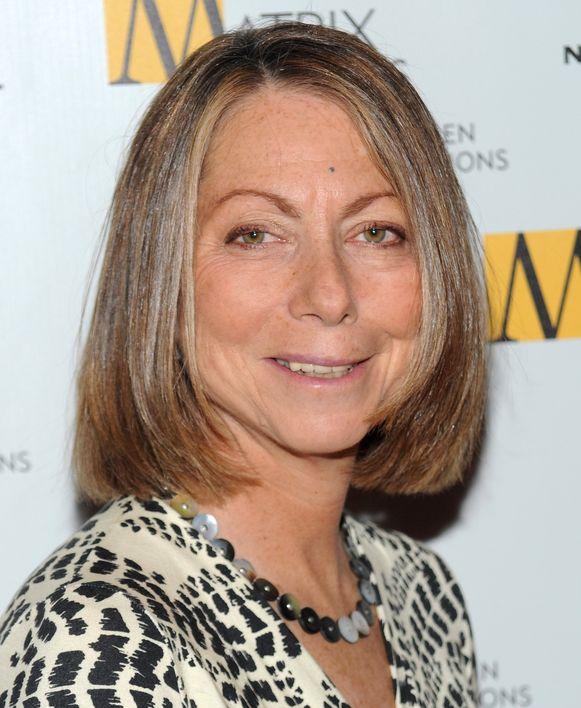 Jill Abramson, de woensdag ontslagen hoofdredactrice van de NYT.