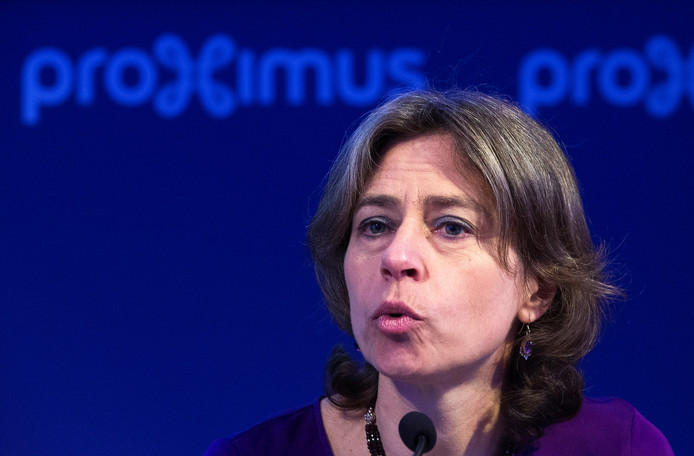 Dominique Leroy in 2016 als ceo van Proximus