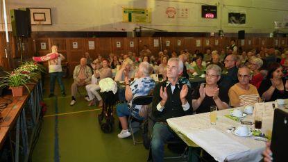 Jaarlijks lentefeest voor senioren in sporthal Rijschool