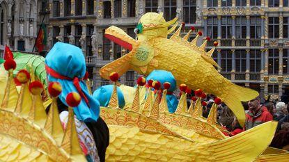 Chinees Nieuwjaar begint onder Stadshal