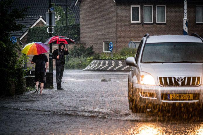 De paraplu is de komende dagen weer nodig.