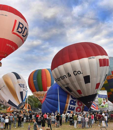 Politie houdt op Ballonfestival man aan met uitbeenmes in zijn tas