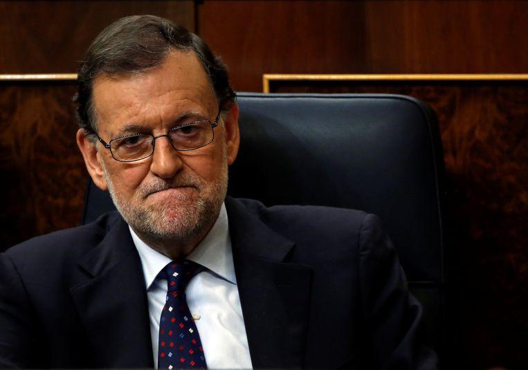 Uitvoerend premier Mariano Rajoy is er vanavond in Madrid niet in geslaagd zijn kandidatuur voor een herverkiezing te verzilveren.