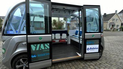 Kortrijk onderzoekt zelfrijdende elektrische shopbusjes