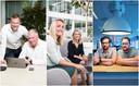 Deze Nederlanders werken samen met een gezinslid.