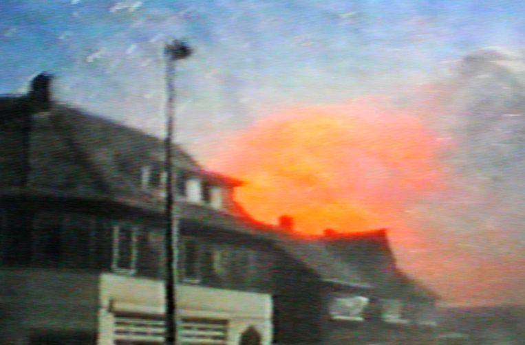Videobeelden van vuurwerkramp gemaakt door Danny de Vries. Beeld Danny de Vries