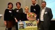 Betty Willems wint eindejaarstombola