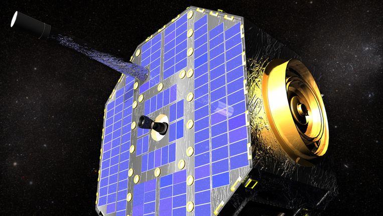 Een afbeelding van de betreffende ruimtesonde. Beeld ap