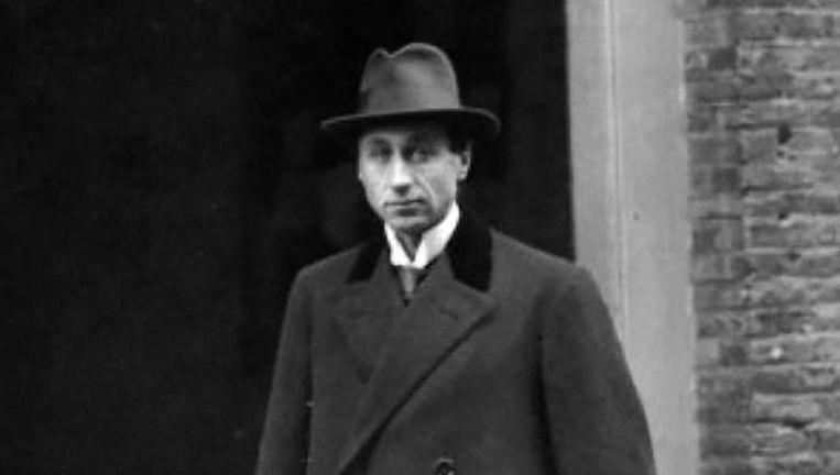 Eduard Meijers in 1917. Beeld Nationaal Archief