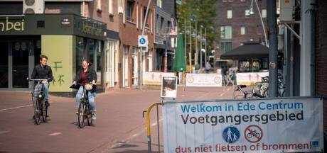 Ede pakt fiets en scooter in de winkelstraten hard aan: 'Het werd echt te gek'