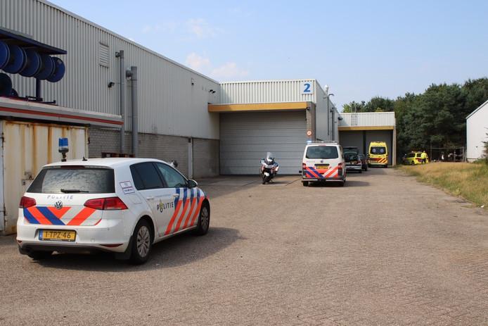 Veel hulpdiensten waren aanwezig op de plek van het ongeval.