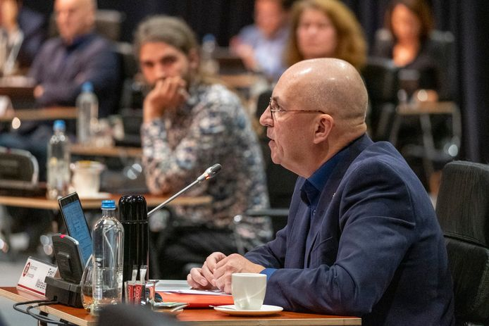 Fractievoorzitter Fred Walravens van de Zeeuwse Statenfractie van Forum voor Democratie.