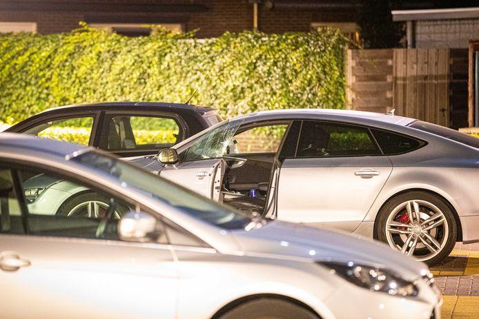 De auto van het vermoedelijke slachtoffer.