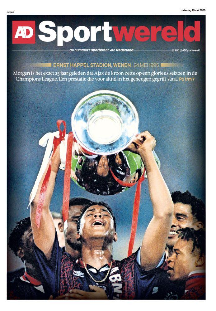 De cover van AD Sportwereld.