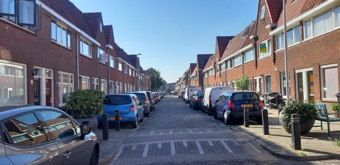 De Balderikstraat in het Utrechtse Zuilen, waar het incident vorige week plaatsvond