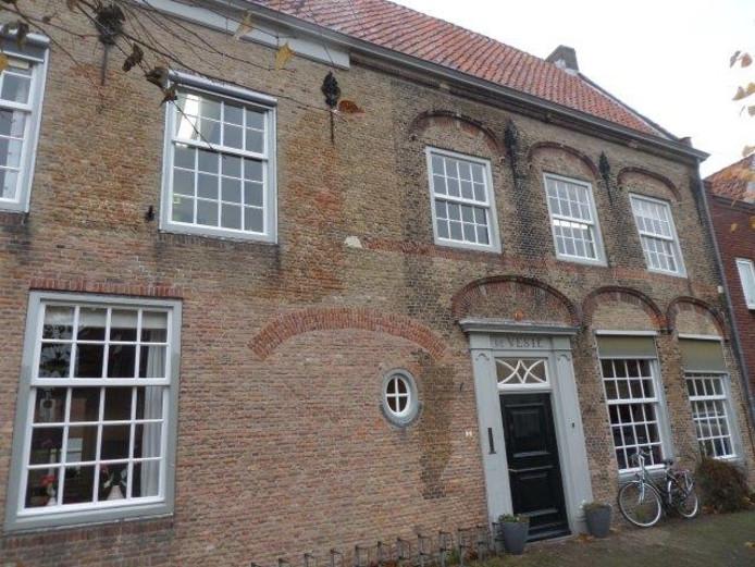 De Veste, het monumentale pand van De Vleet in Woudrichem.