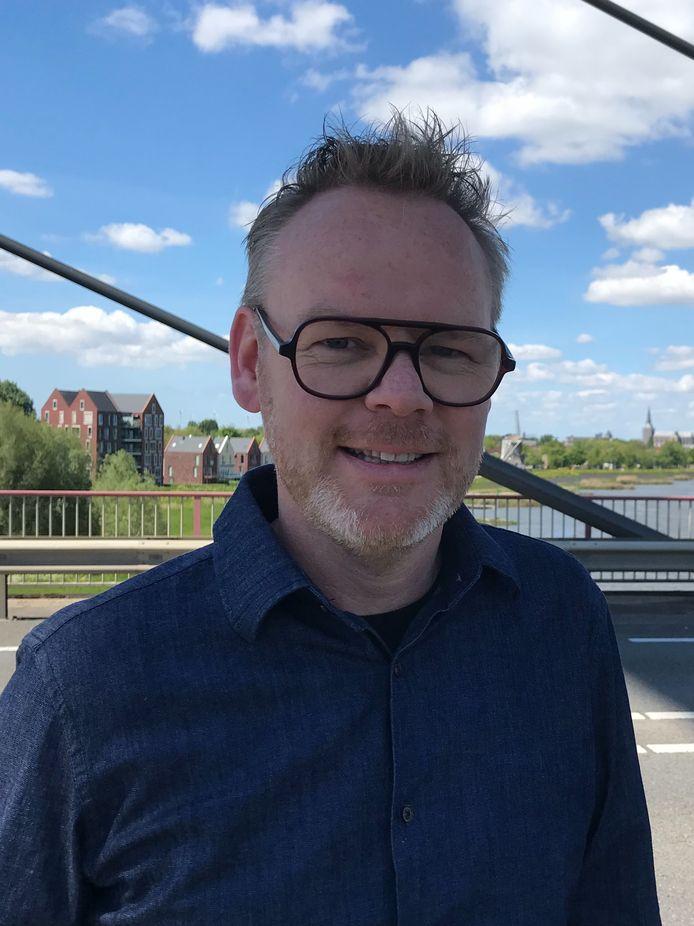 Richard Boddeus, raadslid in Kampen en verpleegkundige.