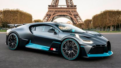 Nieuwste Bugatti kost vijf miljoen euro en is nu al uitverkocht