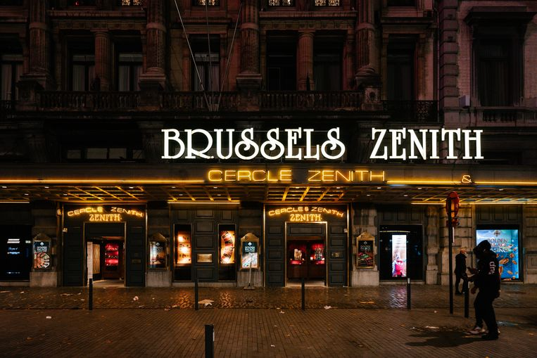 Casino Brussels Zenith, twee dagen voor de lockdown. Beeld Damon De Backer