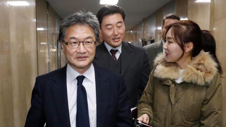 Joseph Yun eerder deze maand in Zuid-Korea. Beeld EPA