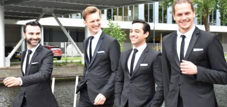 Dutch Tenors zijn in smaakvol zwart het heertje op Noordkade