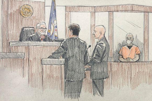 J. Alexander Kueng verschijnt voor de rechter.