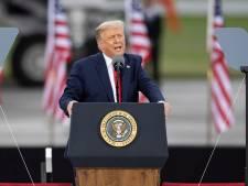 Trump verdedigt corona-aanpak en trekt parallel met Churchill