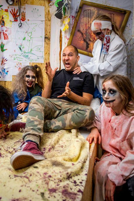 Wie durft? Griezelen in het kleinste spookhuis van Nederland