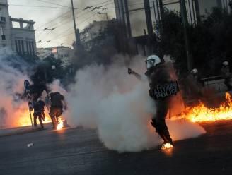 Geweld in Athene tijdens betoging tegen nieuwe protestwet