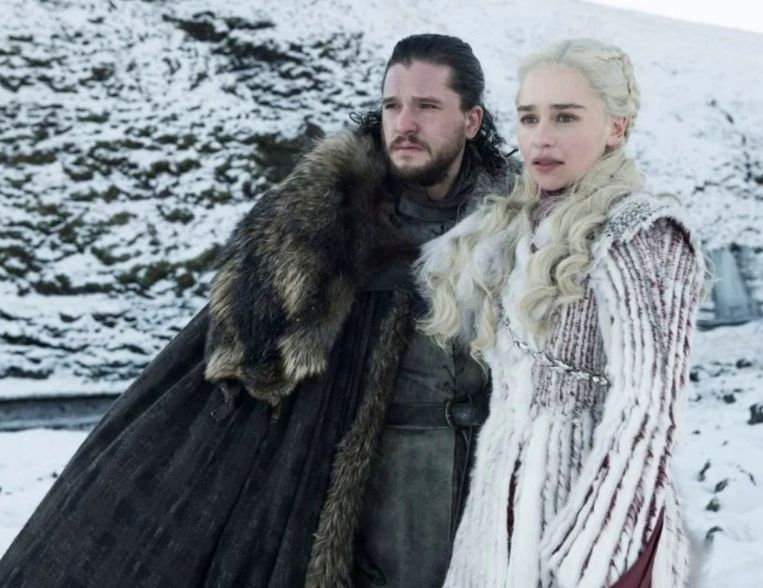 Jon Snow en Daenerys Targaryen.