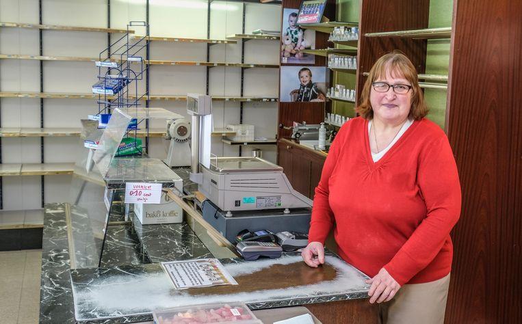 """Arlette Dolfen neemt afscheid van haar winkel en van al haar klanten. """"Iedereen bedankt."""""""