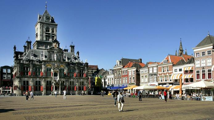 De Markt in Delft.