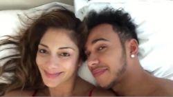 Hackers lekken intieme video van Lewis Hamilton en Nicole Scherzinger online