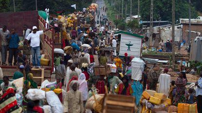 Ruim duizend moslims in konvooi weggeleid uit Bangui