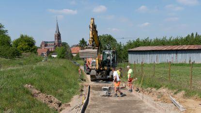 Erosiewerken beschermen Klein-Gelmenstraat tegen modderstromen