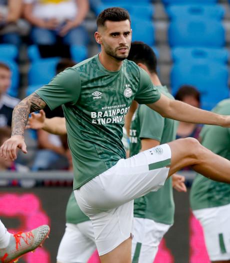 Pereiro is terug op het trainingsveld bij PSV