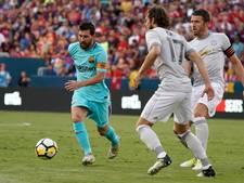 Neymar schiet Barça langs United