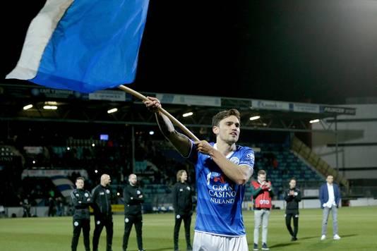 Sam Kersten heeft een sterk seizoen achter de rug bij FC Den Bosch.