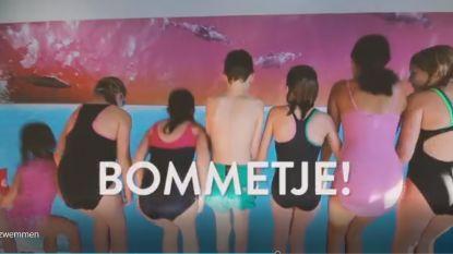 VIDEO. Schoolzwemmen duurder in Kortrijk? Kinderen én Willy Naessens protesteren