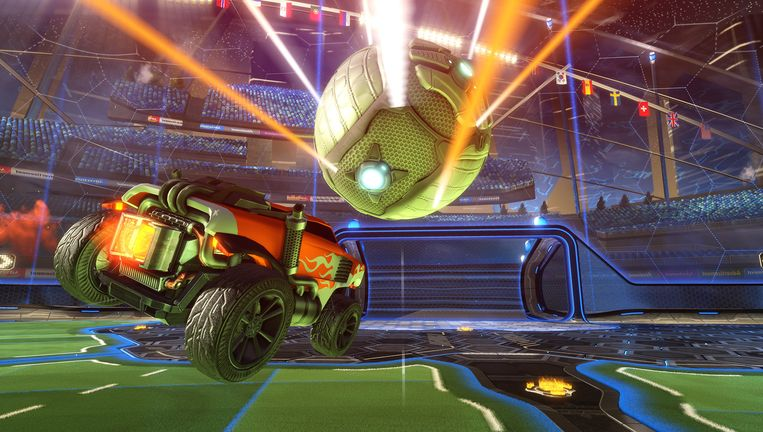 Gaan PlayStation-spelers straks autovoetballen tegen Xbox-gamers? Beeld Psyonix