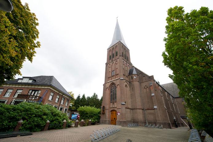 Het koor van de Sint Sebastianus kerk bestaat vijftig jaar.