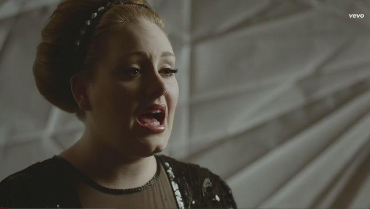 De video van Adele, Rolling in the Deep, binnenkort niet meer te zien op YouTube? Beeld YouTube
