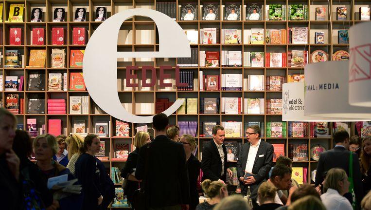 De Frankfurter Buchmesse. Beeld getty