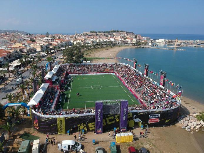 WK Socca op Kreta vorig jaar.