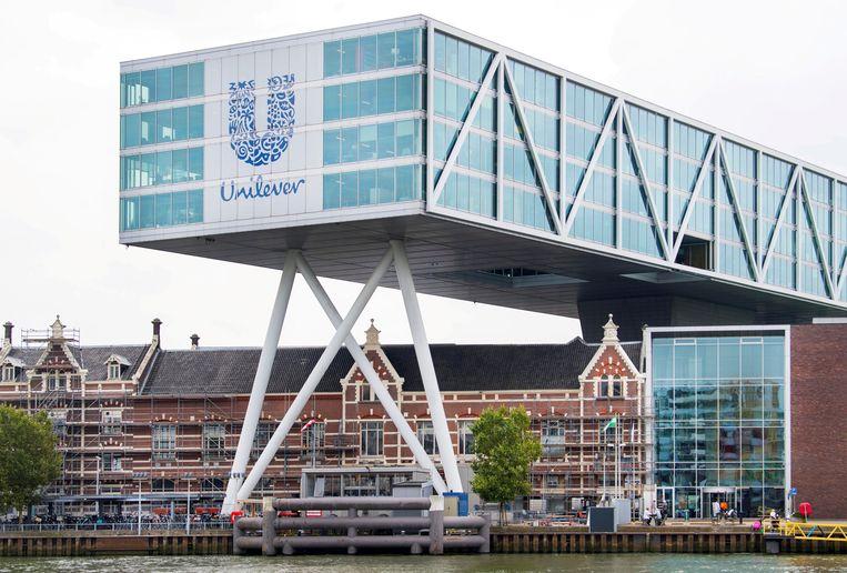 Het huidige hoofdkantoor van Unilever in Rotterdam. Beeld REUTERS