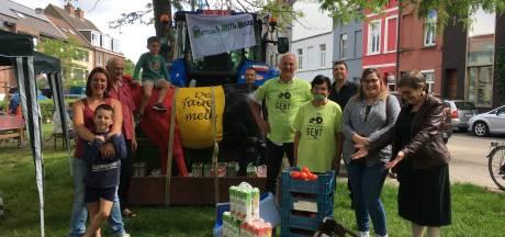 Landbouwers steunen Solidariteitsfonds met 200 liter melk