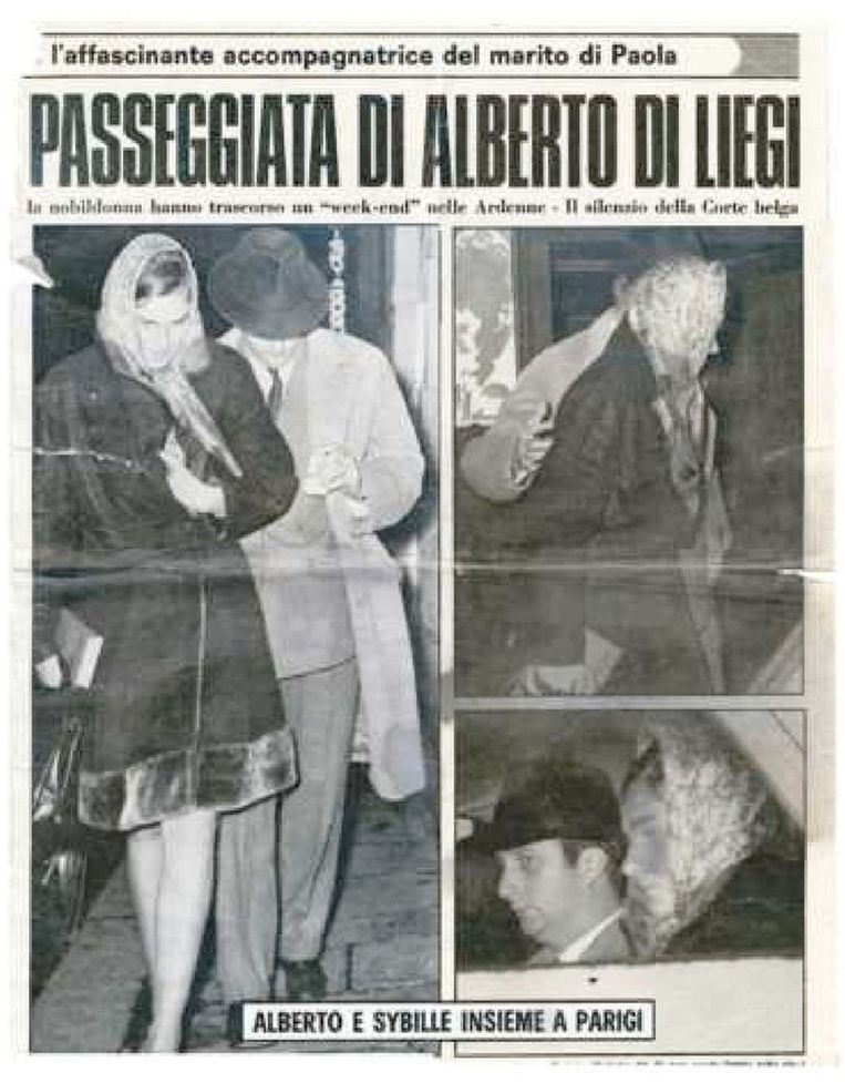 In 1970 publiceerde het blad Gente beeld van Albert en Sybille in Parijs.