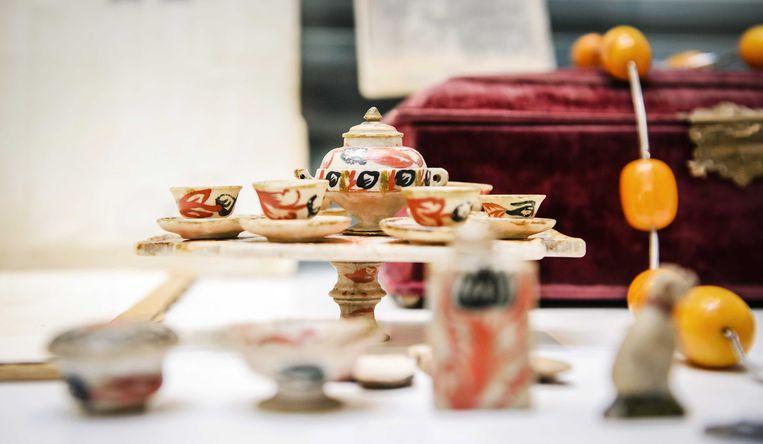 Spullen van Mata Hari die vorig jaar in Amsterdam onder de hamer gingen.