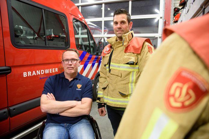 Ton Kempers (l) en Frank van Melis.