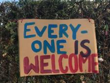 Actie tegen Pegida op Stadhuisplein Eindhoven